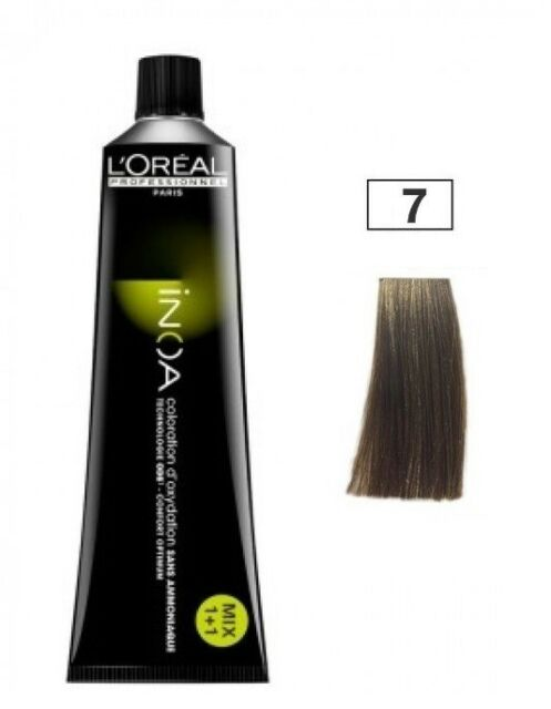 iNoa Tono 7 Color Blond Rubio Loreal ProfessionaL