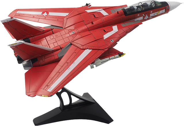 Calibre Wings CBW72RB04 1 72 F-14 Milio Tipo Macross con Supporto