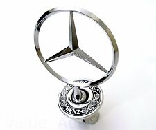 Mercedes Benz Hood Mount Emblem Badge Ornament 2108800186 Upright Standing Star