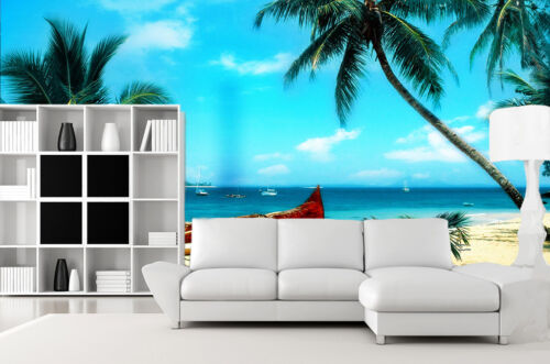 Details about  /3D Beautiful Beach Scenery 29 Wall Paper Wall Print Decal Wall AJ Wall Paper