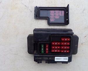kawasaki junction box fuse holder case fuses 26021 1096 kawasaki rh ebay com case 1845c fuse box location case 580 fuse box