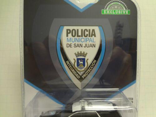 Greenlight Green Machine 2018 Dodge Durango Police San Juan Puerto Rico
