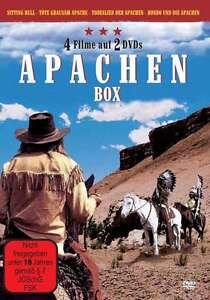 Apache-Western-BOX-Uccidere-SITTING-BULL-Hondo-CANZONE-DI-MORTE-DVD-Collezione