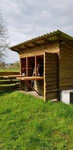 Gartenhaus-aus-Holz-gebraucht-ca-2-5-x-3-5-m-Marke-Eigenbau