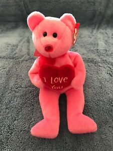 TY Beanie Baby - ADORE the Bear (Internet Exclusive) (8.5 inch) - MWMTs