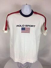 Rare VTG 90's Polo Sport Ralph Lauren Spell Out Short Sleeve T-Shirt Size Small