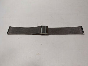 Stainless Steel 18 MM Mesh Watch Strap NEW