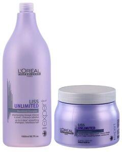 Image is loading L-039-Oreal-Professionnel-Liss-Unlimited-Shampoo-1500ml- d3b8e10abf3