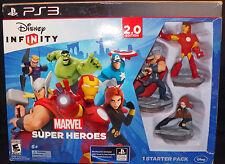 Disney Infinity Marvel Avengers Super Hero 2.0 Ed Starter Pack Playstation 3 PS3