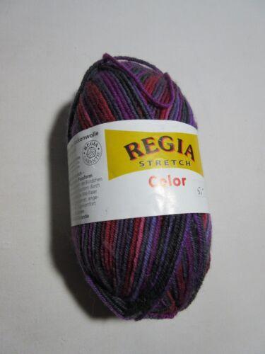 "/""RegiaStretch Color/""4-fädig Strumpfwolle,Sockenwolle Col.132"