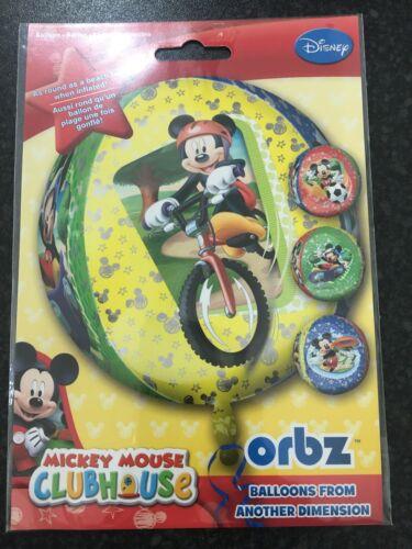 Mickey Mouse Club House Orbz Ballon NEUF DANS EMBALLAGE SCELLÉ