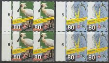 Niederlande 1999 ** Mi.1706/07 Bl/4 Vögel birds Schwalbe swallow [st2517]