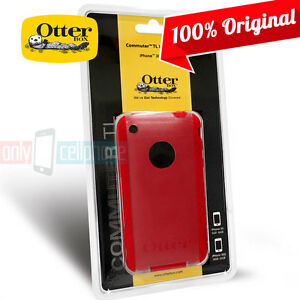 NEW-Original-Otterbox-iPhone-3GS-3G-Commuter-TL-Red-Dual-Layer-Hard-Cover-Case