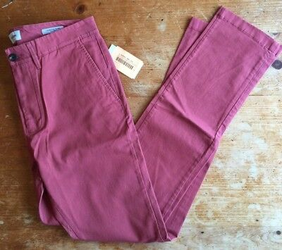 Straight-fit Chino Pants Dusty Red  NEW! Hennepin Goodfellow /& Co 38x32
