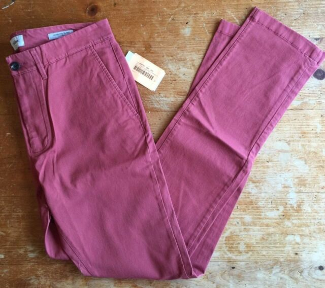 NWT Men/'s Straight Fit Hennepin Chino Pants Goodfellow /& Co Dusty Red