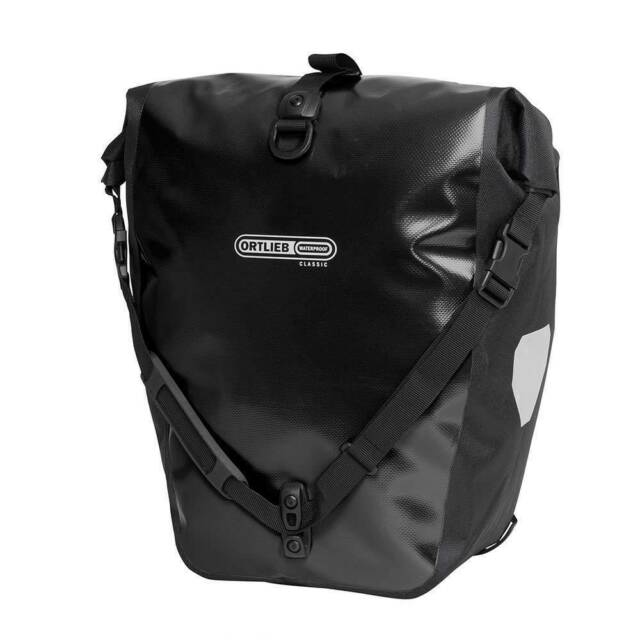 Ortlieb Back-Roller Classic bike bicycle pannier bag - Black - Made in Germany