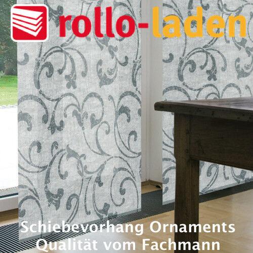 Gardine Design Ornaments für Schiebevorhang - Flächenvorhang