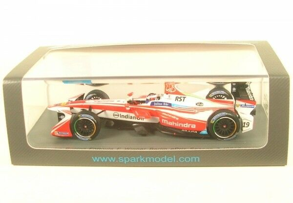 Mahindra Racing No.19 Formula e Team - Vincitore Berlino Eprix Season 3