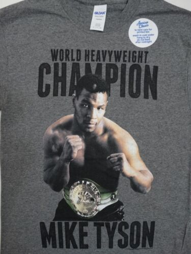 Mike Tyson Iron Mike Boxing Heavyweight Champion Officially Licensed T-Shirt