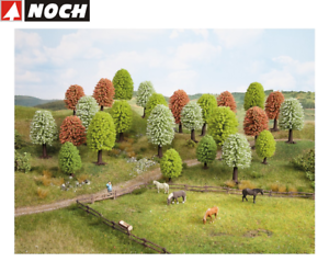 NOCH-26806-Spring-Trees-5-9-CM-High-25-Piece-New-Boxed