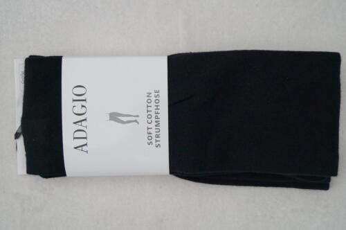 44//46  2 Farben NEU ADAGIO Strick-Strumpfhose Soft Cotton Gr.36//38 40//42