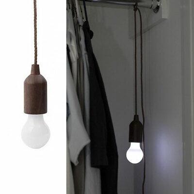LED-Glühbirne Licht Lampe Lampenfassung Zugschalter an Schnur