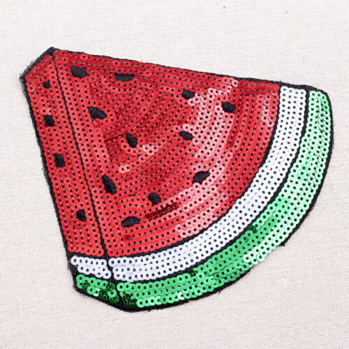 Watermelon Applique Patch Clothes Stickers Sequin Patches For Jackets Patches