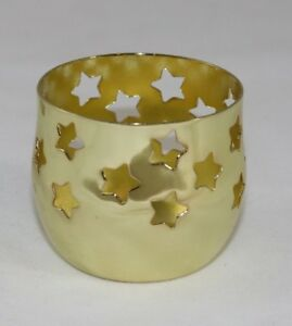 Set-of-4-Silver-Plated-H-R-W-Fink-Tealight-Candle-Holder-Stars-FREE-POSTAGE