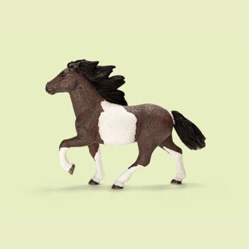 """Drapeaux-NEW with tag!!! 13707 /"""" Pony Stallion/"""" /""""ISLAND Poney étalon/"""" Schleich-NEUF"""