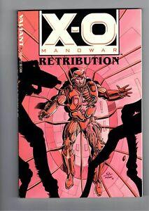 X-O Manowar Retribution TPB #1 From Valiant Comics 1993