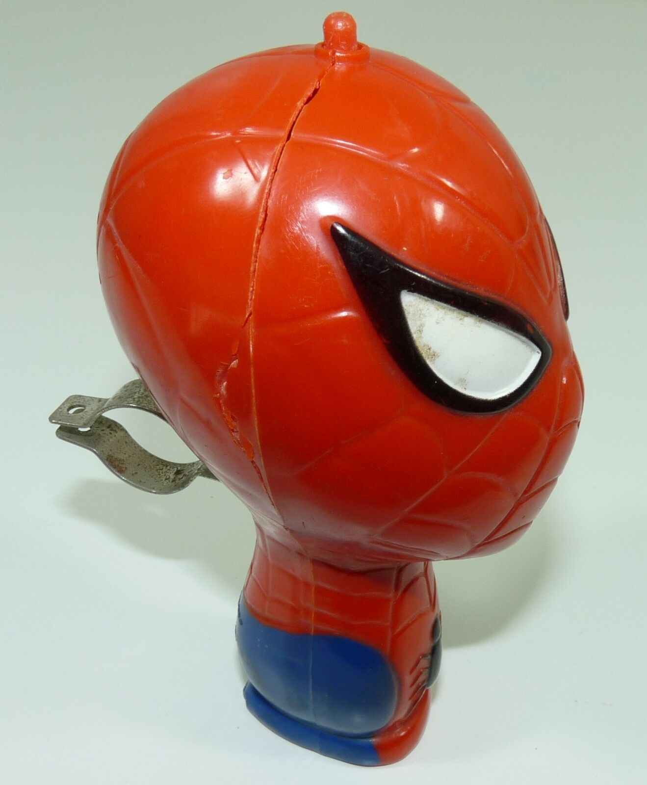 VINTAGE 1973 MARVEL COMICS SPIDERMAN BICYCLE BICYCLE BICYCLE HORN - DURHAM INDUSTRIES - RARE  6e64a5
