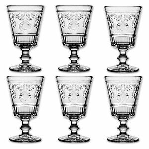 6x la rochere versailles weinglas glas gl ser weingl ser 400 ml ebay. Black Bedroom Furniture Sets. Home Design Ideas