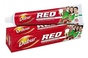2x-Dabur-Red-Paste-For-Teeth-amp-Gums-With-Ayurvedic-Actives-100-Gram