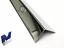 Edelstahlwinkel Kantenschutz 50x50mm 3-fach gekantet IIID spiegeloptik