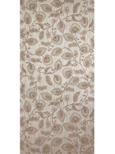 Wallpaper textured beige Scandinavian modern floral leaf wall coverings rolls 3D