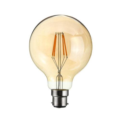 Baïonnette 4 W G80 DEL Réglable Vintage Classic Filament Ampoule