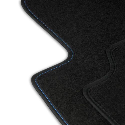 Fußmatten Auto Autoteppich passend für Seat Altea 5P1 2008-2015 Set CACZA0303