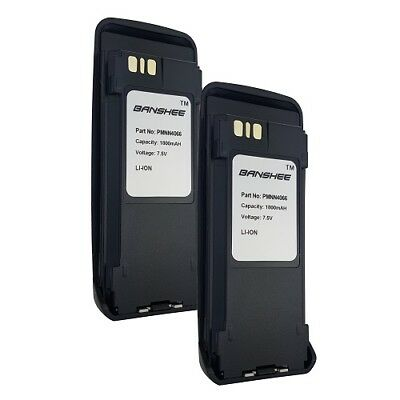 2 x Battery For Motorola XPR6100 XPR6300 XPR6350 XPR6380 XPR6500 XPR6550 XPR6580