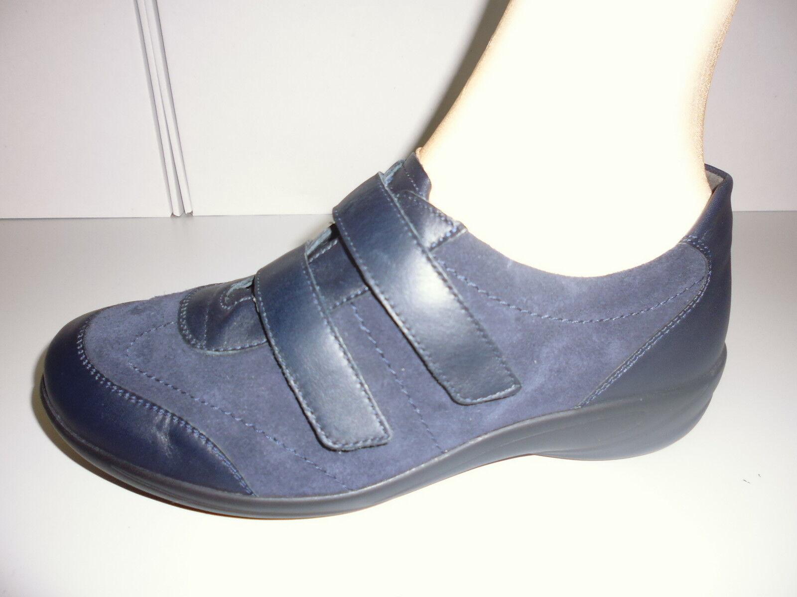 chaussures femmeschaussures SLIPPER KLETTSLIPPER   LEDER von SEMLER Gr. 5 ( 38 ) W K