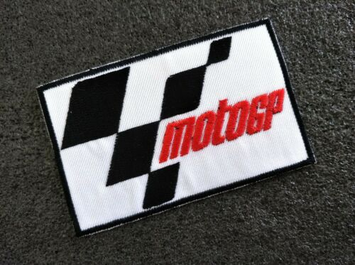 MotoGP Patchs Motorcycle Racing Sport Sew Iron On Jacket  Embroidered DIY