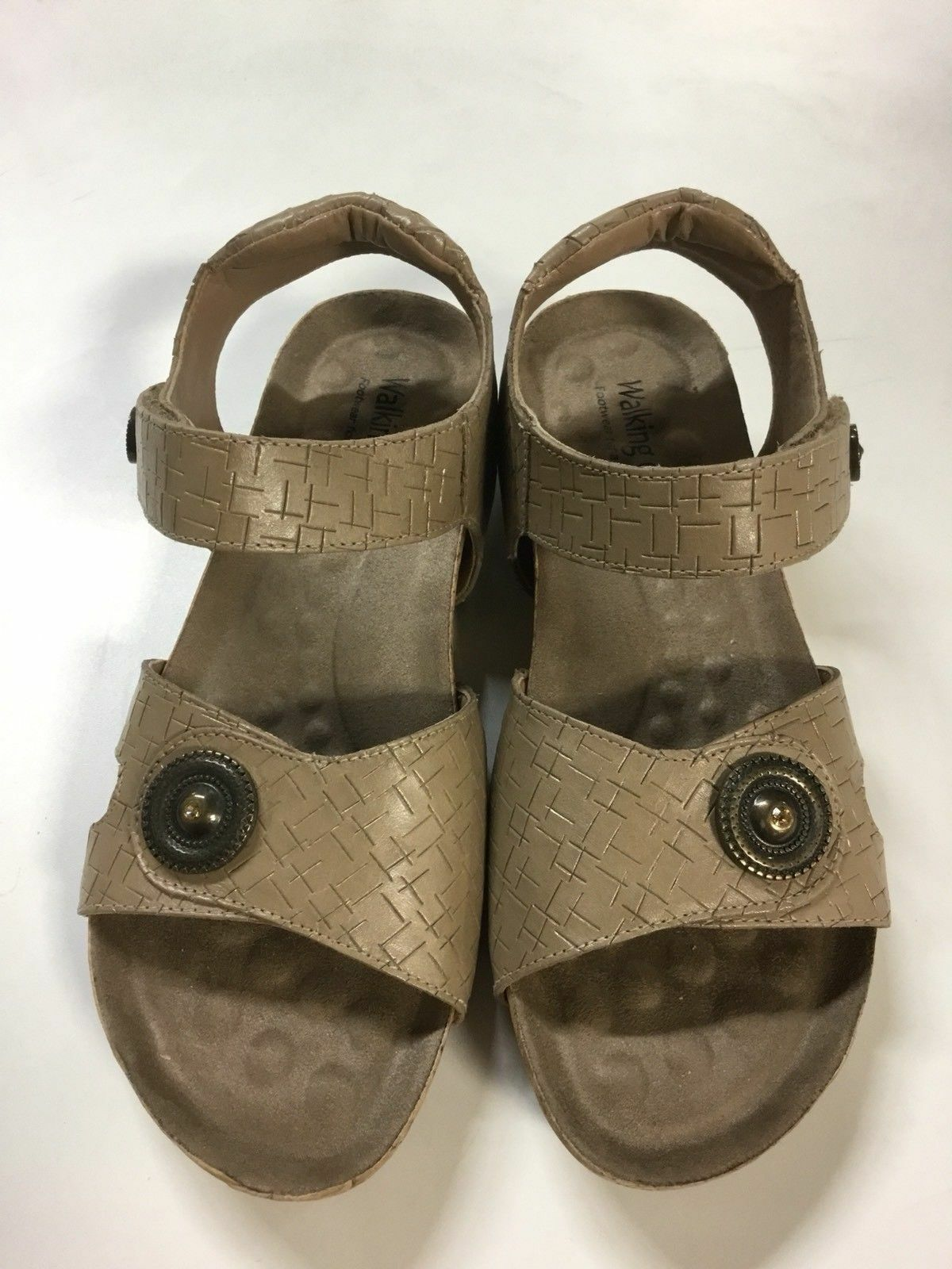 NIB Walking Cradles Pickens Women's Comfortable Walking Sandals I