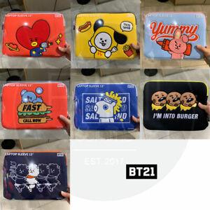 BTS-BT21-Official-Authentic-Goods-13-034-Laptop-Sleeve-BITE-Ver-Tracking-Num