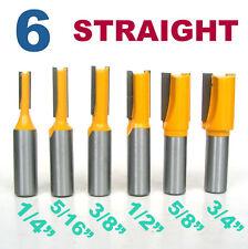 "1//4,5//16,3//8,1//2/"" 4PC Diameter Round Nose Router Bit Set 1//4/"" Shank Router Bit"