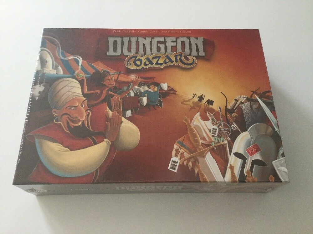 Cranio Boardgame Dungeon Bazar Box New