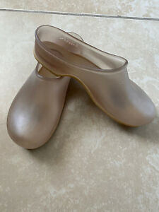 SLOGGERS-Clear-Transparent-See-Through-Rubber-Waterproof-Clogs-Gardening-Shoes-7