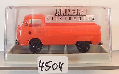 3321 Volkswagen Bulli VW T2 Kombi Zoll OVP #6141 Brekina 1//87 Nr