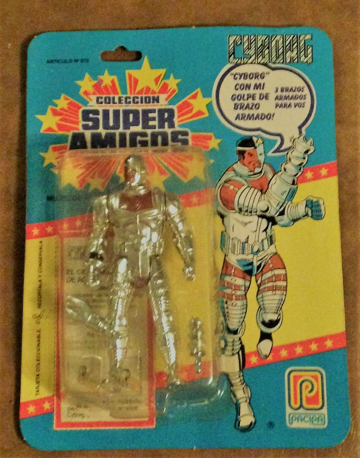 Super Powers Cyborg Pacipa Foreign Variant