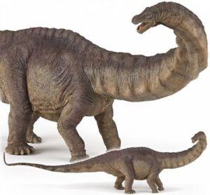 APATOSAURUS-Dinosaur-55039-FREE-SHIP-USA-w-25-Papo-Items