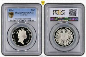 1986-AUSTRALIA-50-CENTS-PCGS-PR69DCAM-PROOF-COIN-IN-HIGH-GRADE