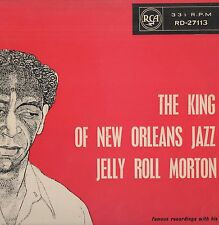 Jelly Roll Morton - 'The King Of New Orleans Jazz' 1959 UK RCA Mono LP. Ex!